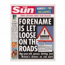 The Sun Passed Driving Test Newspaper